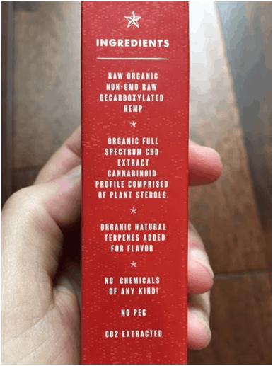 Americana Uncut OG Kush CBD 65% Vape Starter Kit Save On Cannabis Review Specifications