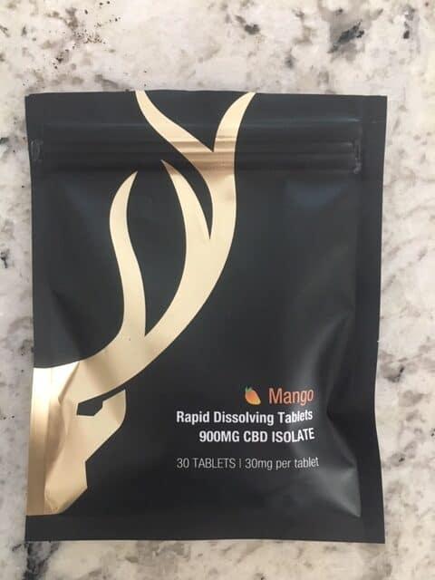 Berkeley Gold Mango CBD Dissolvable Tablets — 900mg