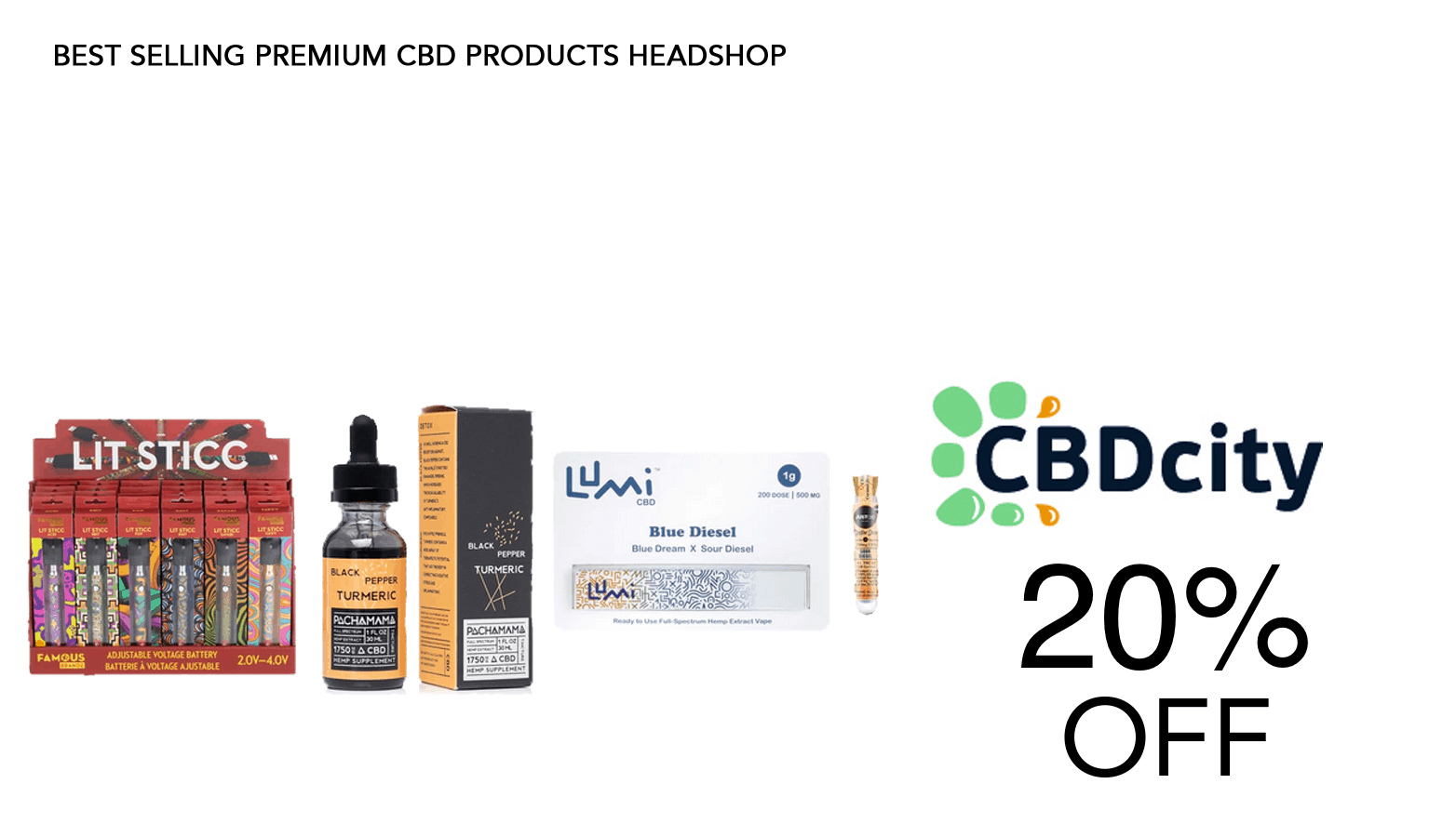 Save 20% CBDCity coupon code - SAve On Cannabis