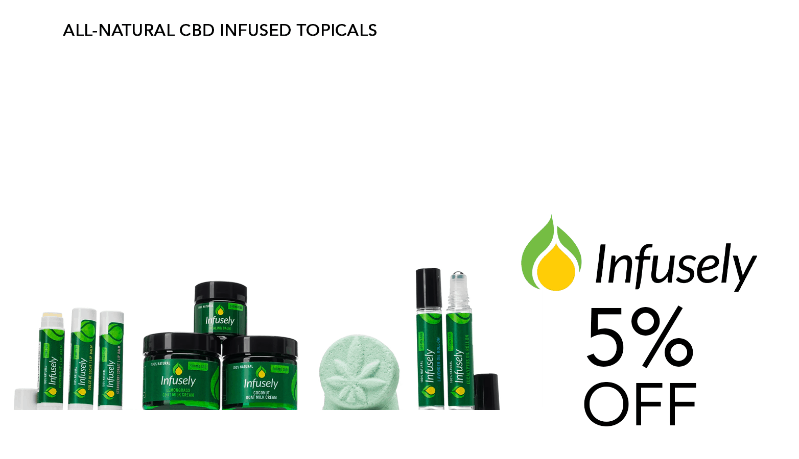 Infusely CBD Coupon Code Offer Website