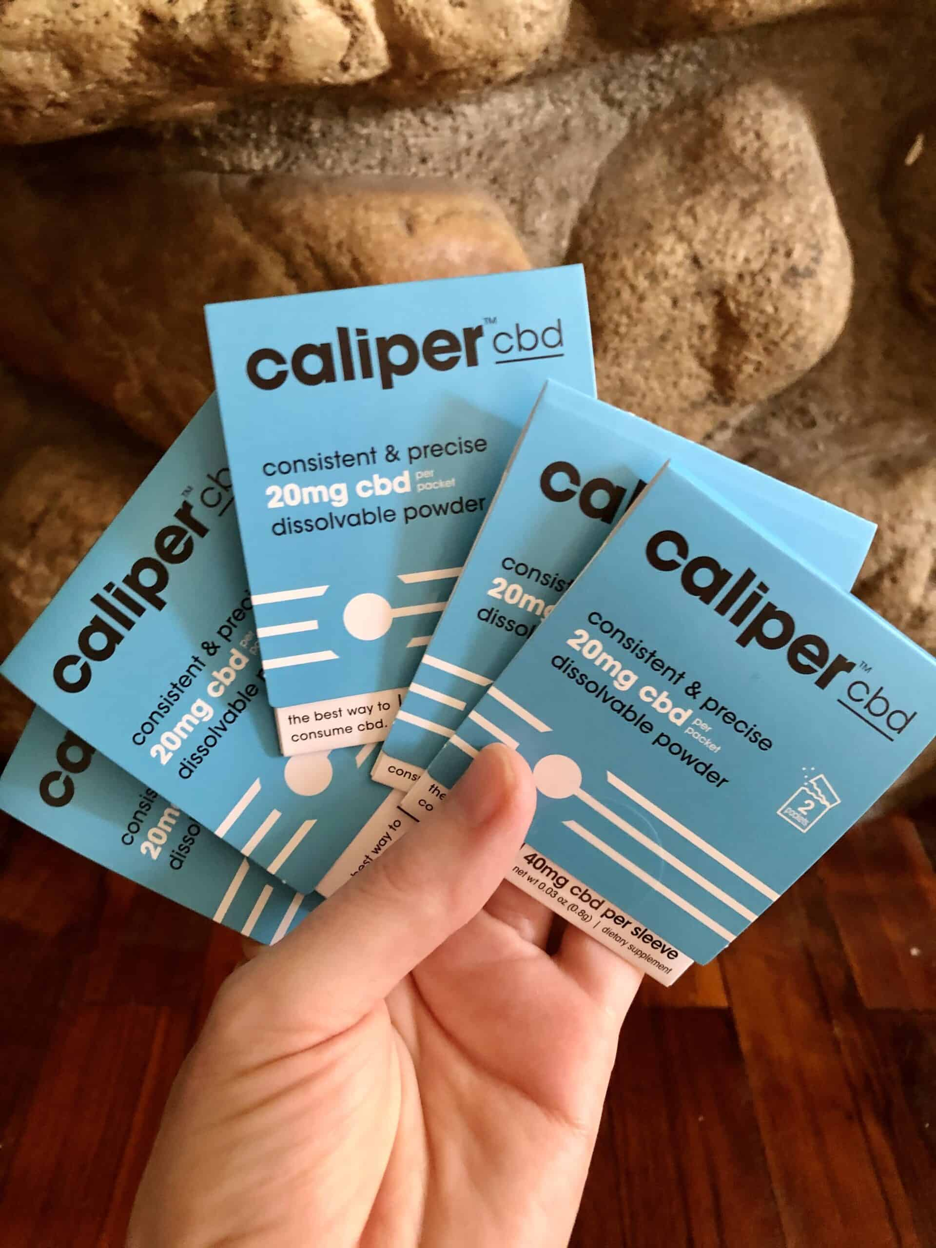 Caliper CBD Dissolvable Powder Save On Cannabis Review Beauty Shot