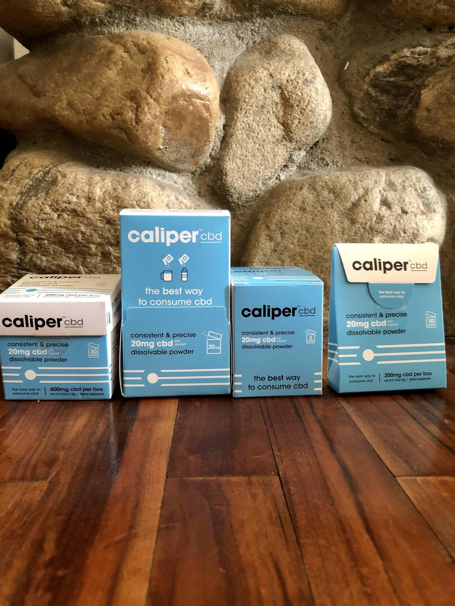 Caliper CBD Dissolvable Powder (20mg CBD per packet)