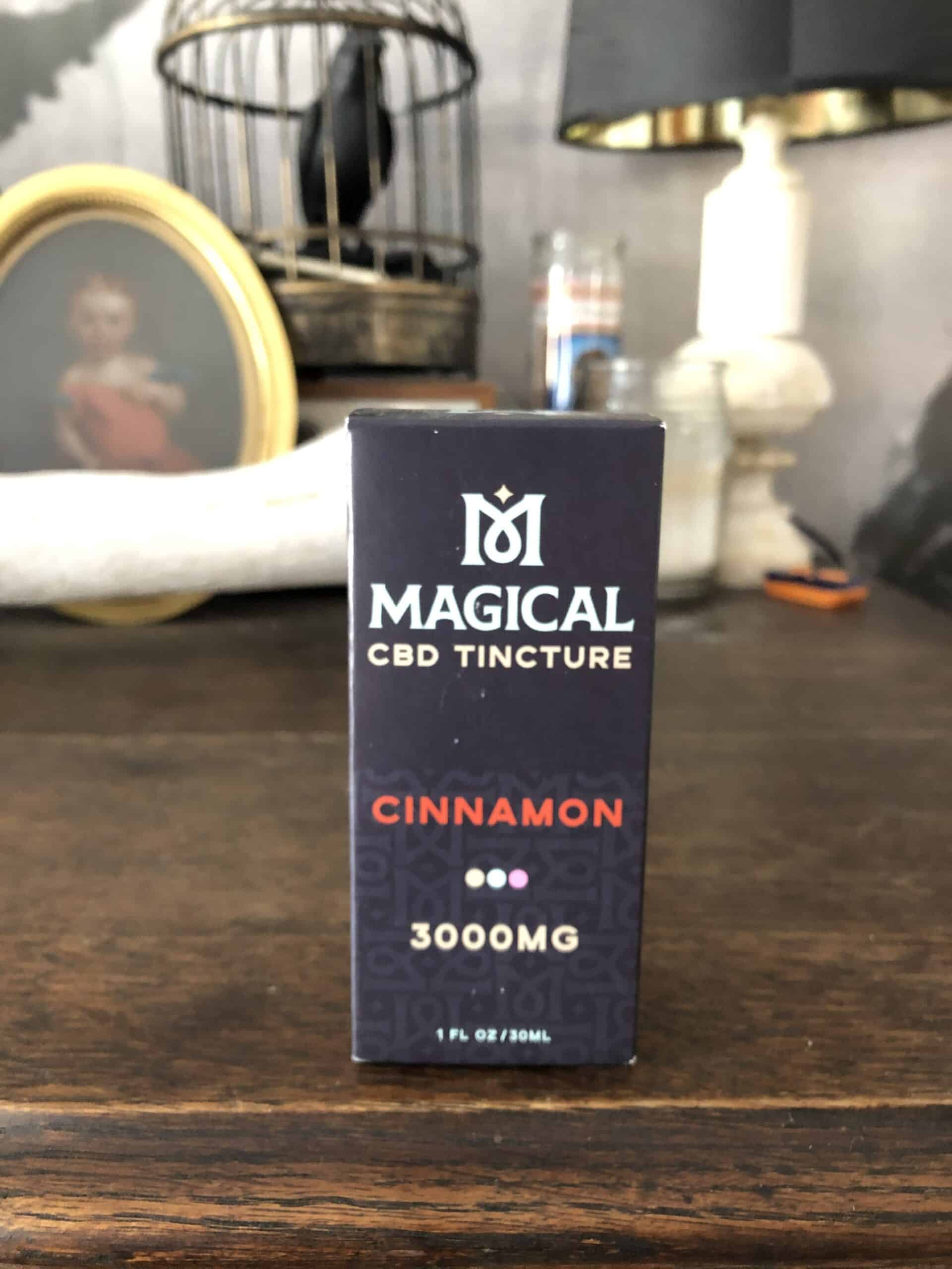 Magical CBD Cinnamon 3000 mg Tincture