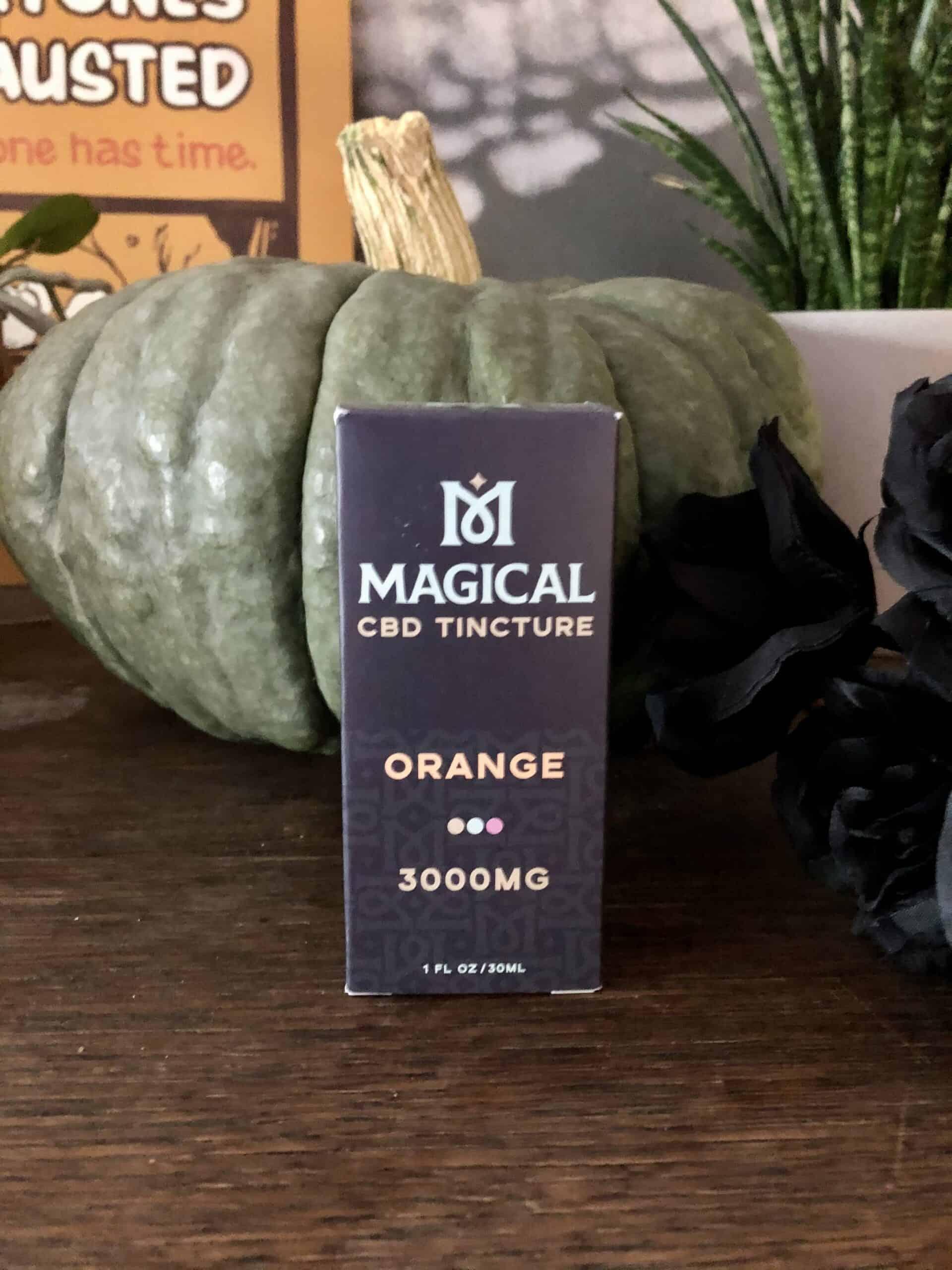 Magical CBD Orange 3000mg Tincture