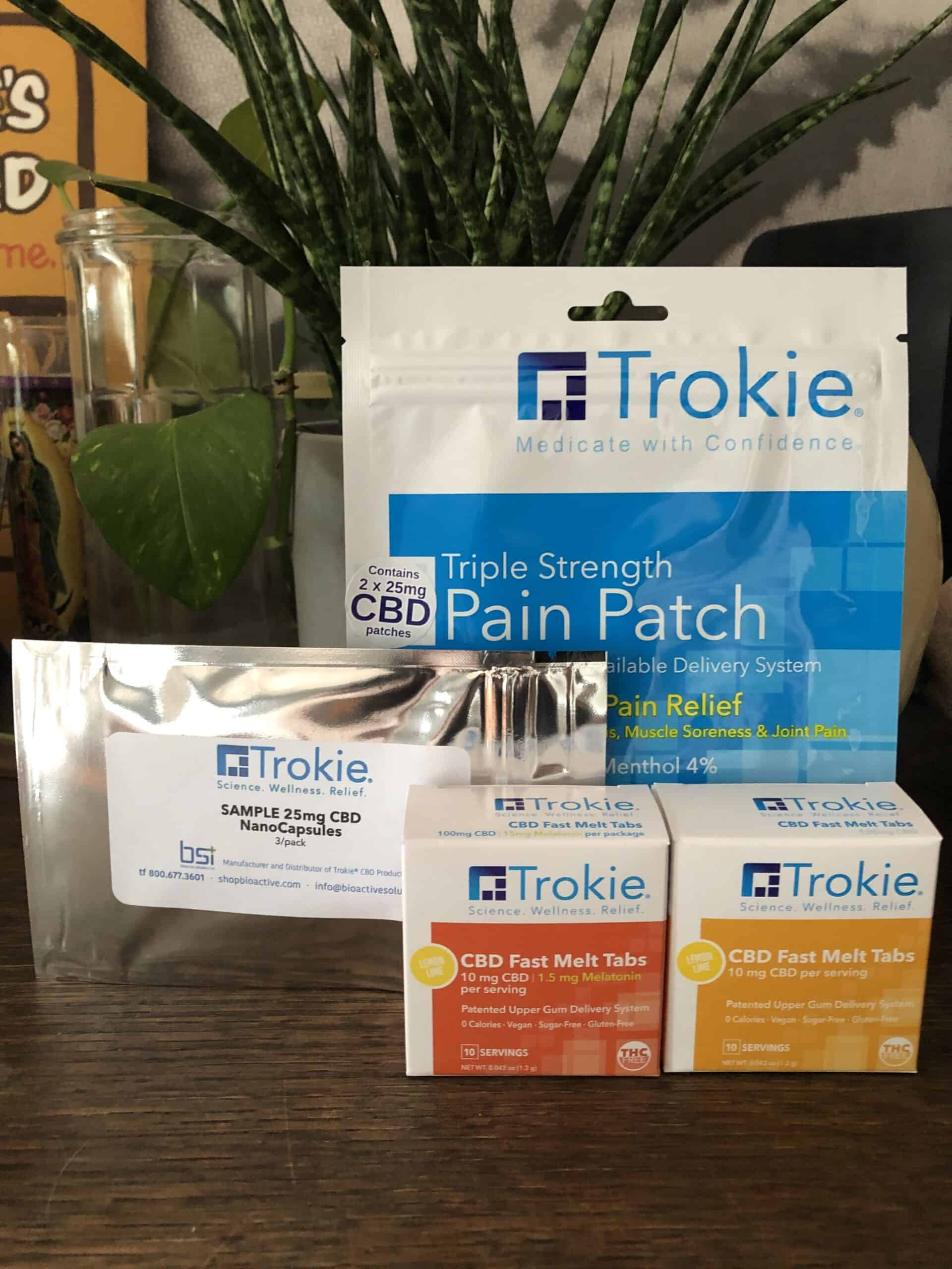 Trokie Triple Strength Pain Patch Save On Cannabis Review Beauty Shot