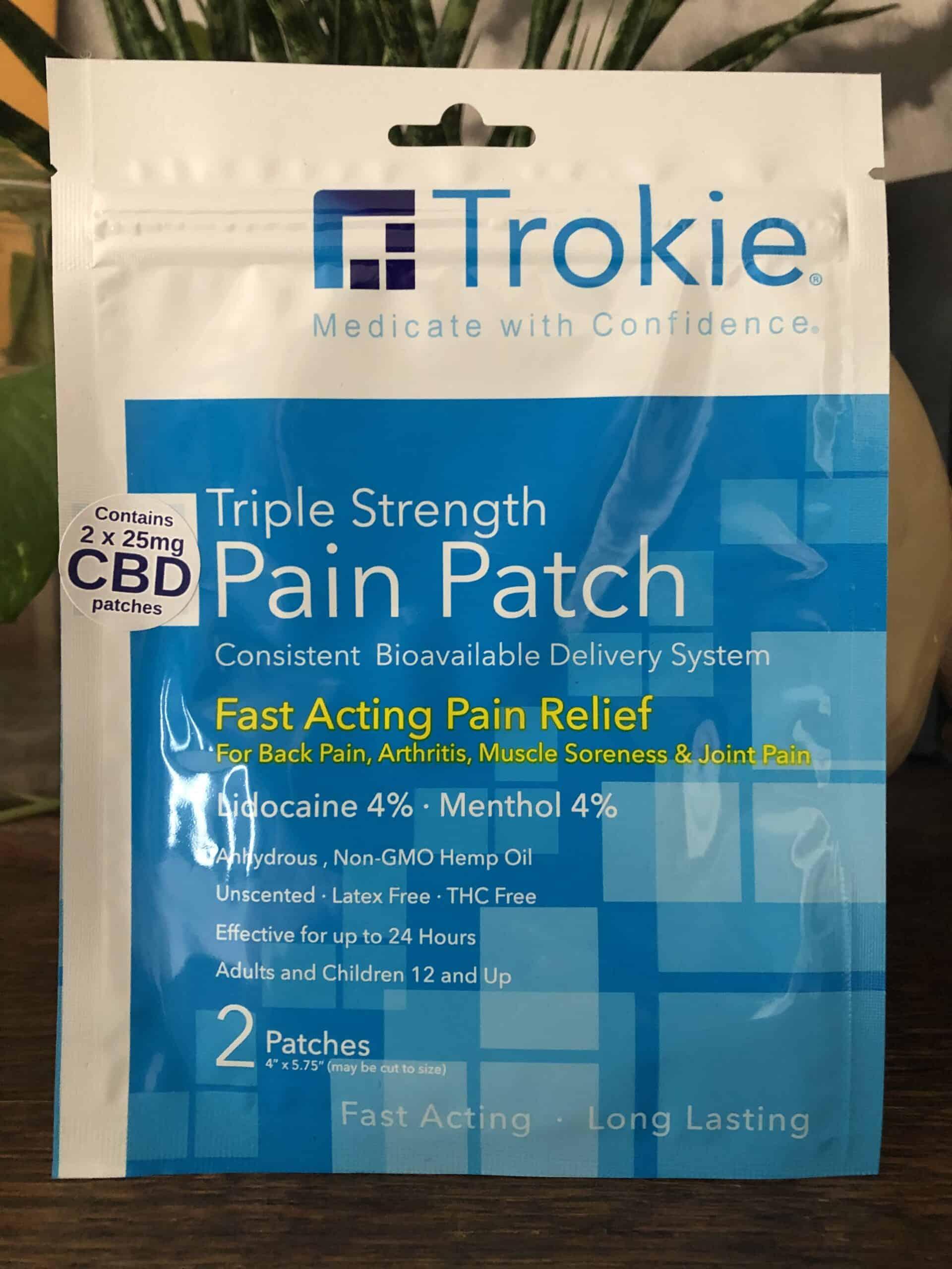 Trokie Triple Strength Transdermal Patch Review