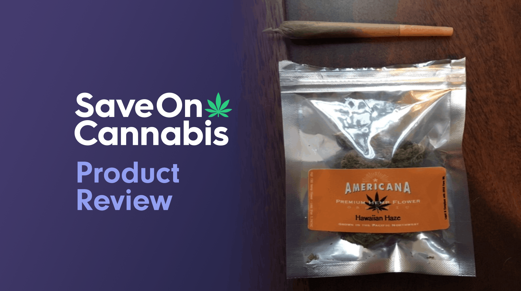 Americana Premium Hemp Flower Hawaiian Haze Save On Cannabis Review Website