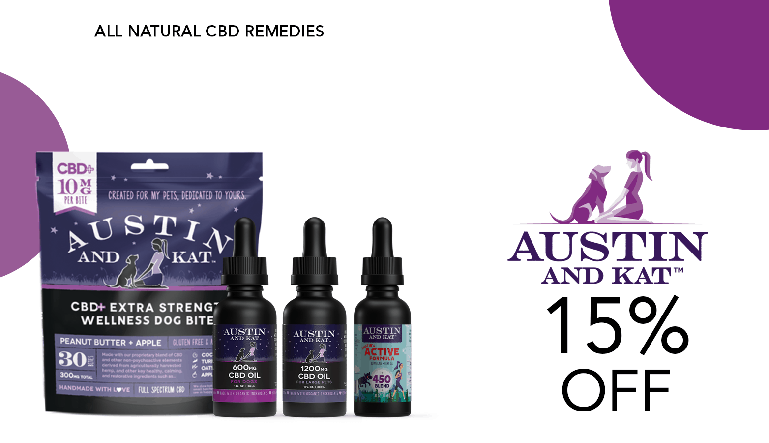 Austin And Kat CBD Pet Coupon Code Offer Website
