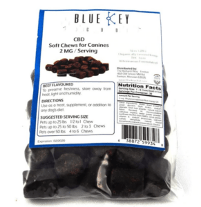 Blue Key CBD Coupons Soft Chews For Canines