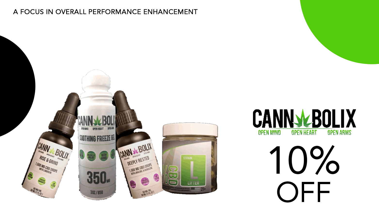 Cannabolix CBD Coupon Code Offer Website