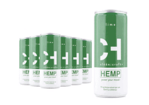 Cleen Craft CBD Drinks Coupons lime Flavoured Cans