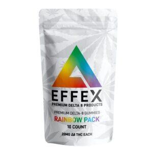 Delta Effex Coupons Rainbow Pack Premium Delta 8 THC Gummies