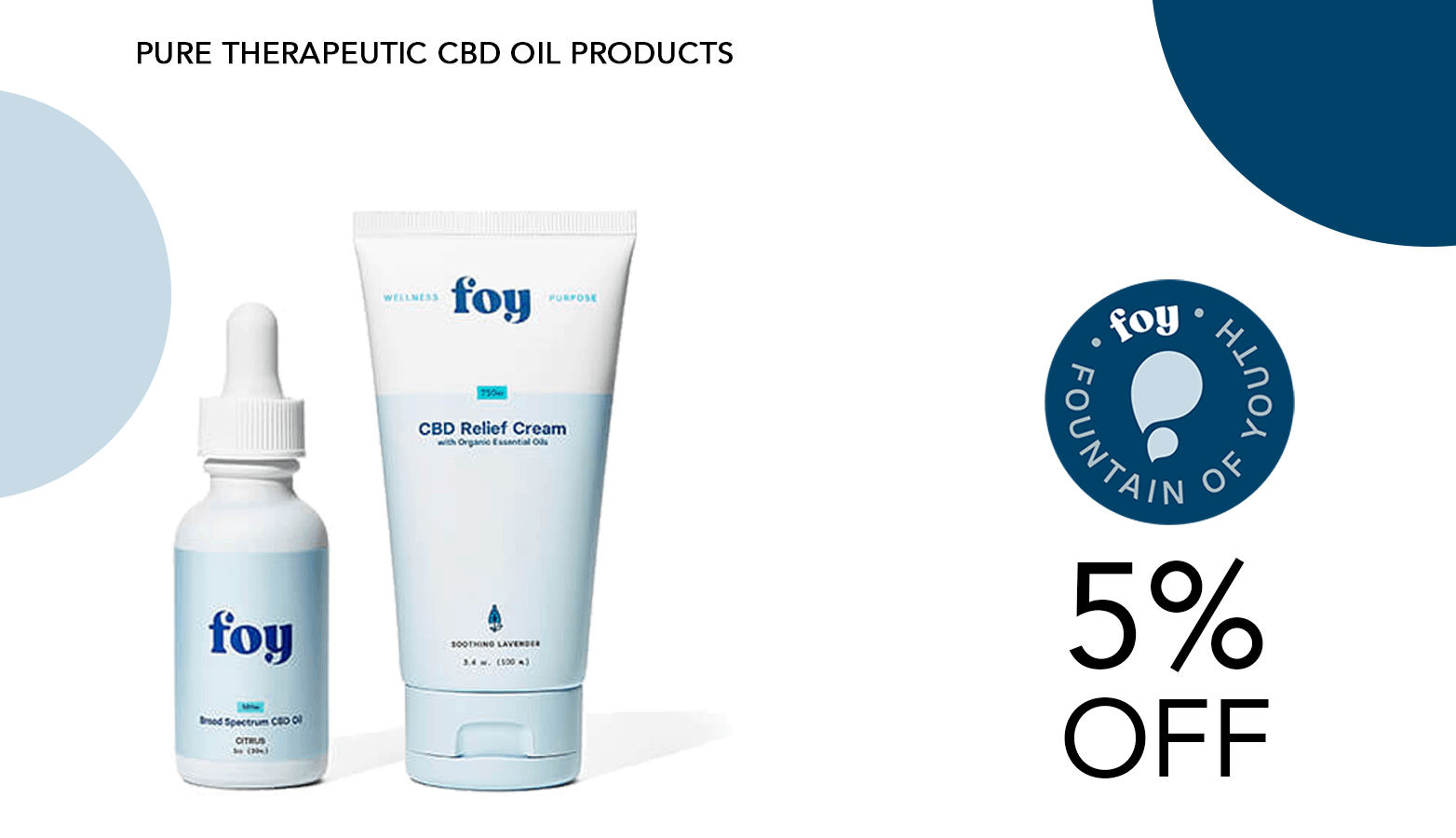 Foy CBD Coupon Code Offer Website