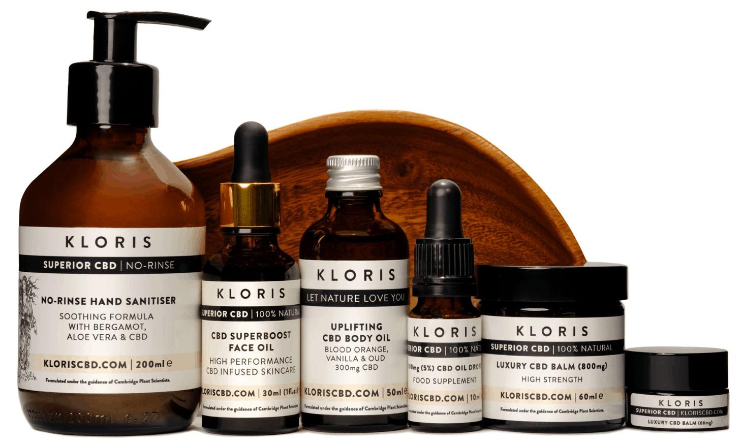 Kloris CBD Coupons Product Range