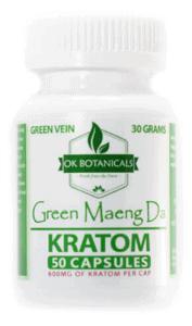 OK Botanicals Coupons Kratom Capsules