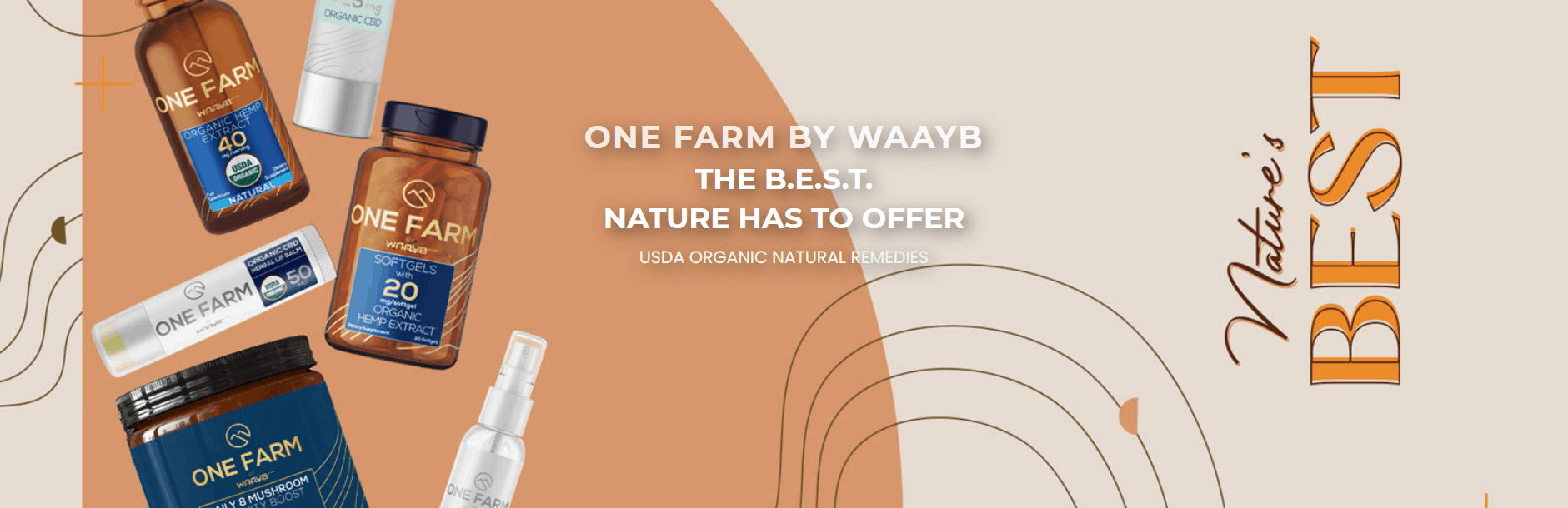 One Farm CBD Coupons Our Products