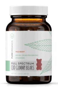 Pure Organics CBD Coupons Gummy Bears