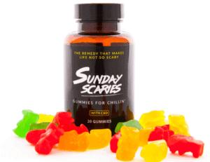 Sunday Scaries CBD Coupons Gummies