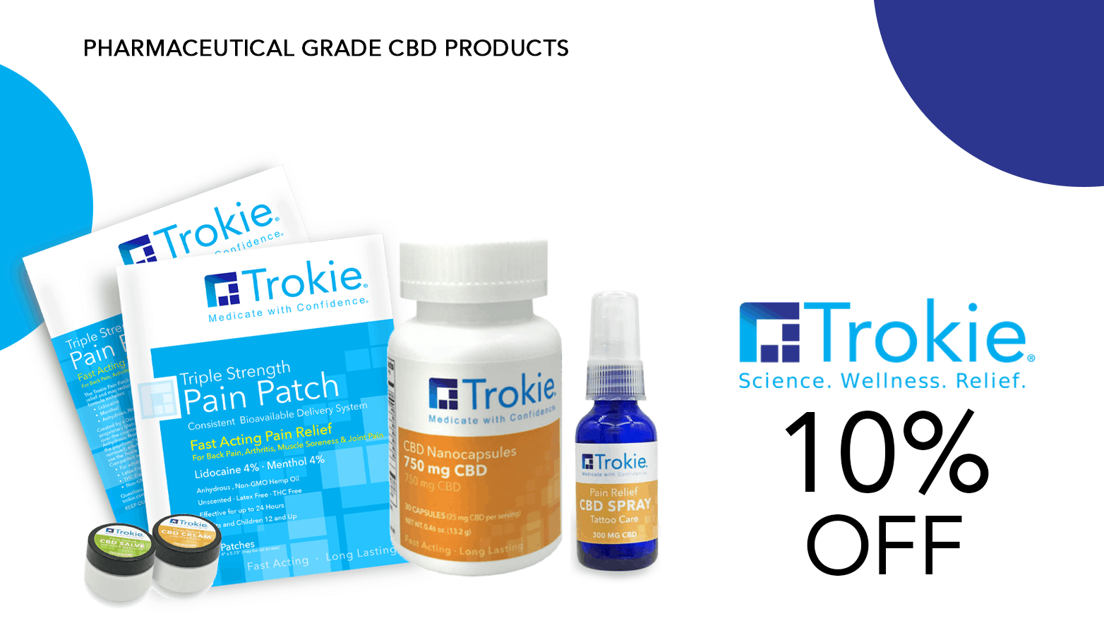 Trokie CBD Coupon Code Offer Website