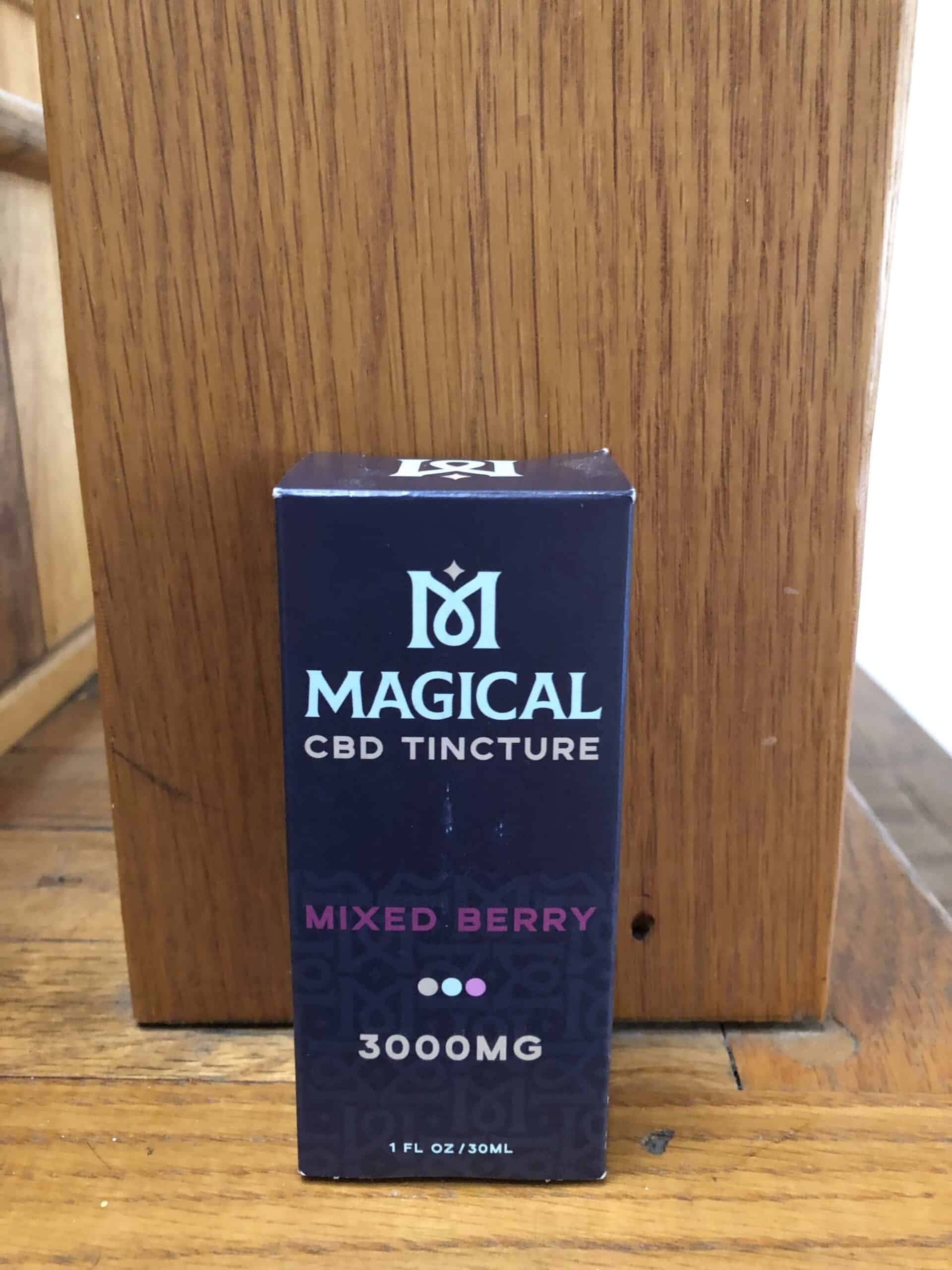 Magical CBD Tincture Mixed Berry 300 MG Save On Cannabis Review