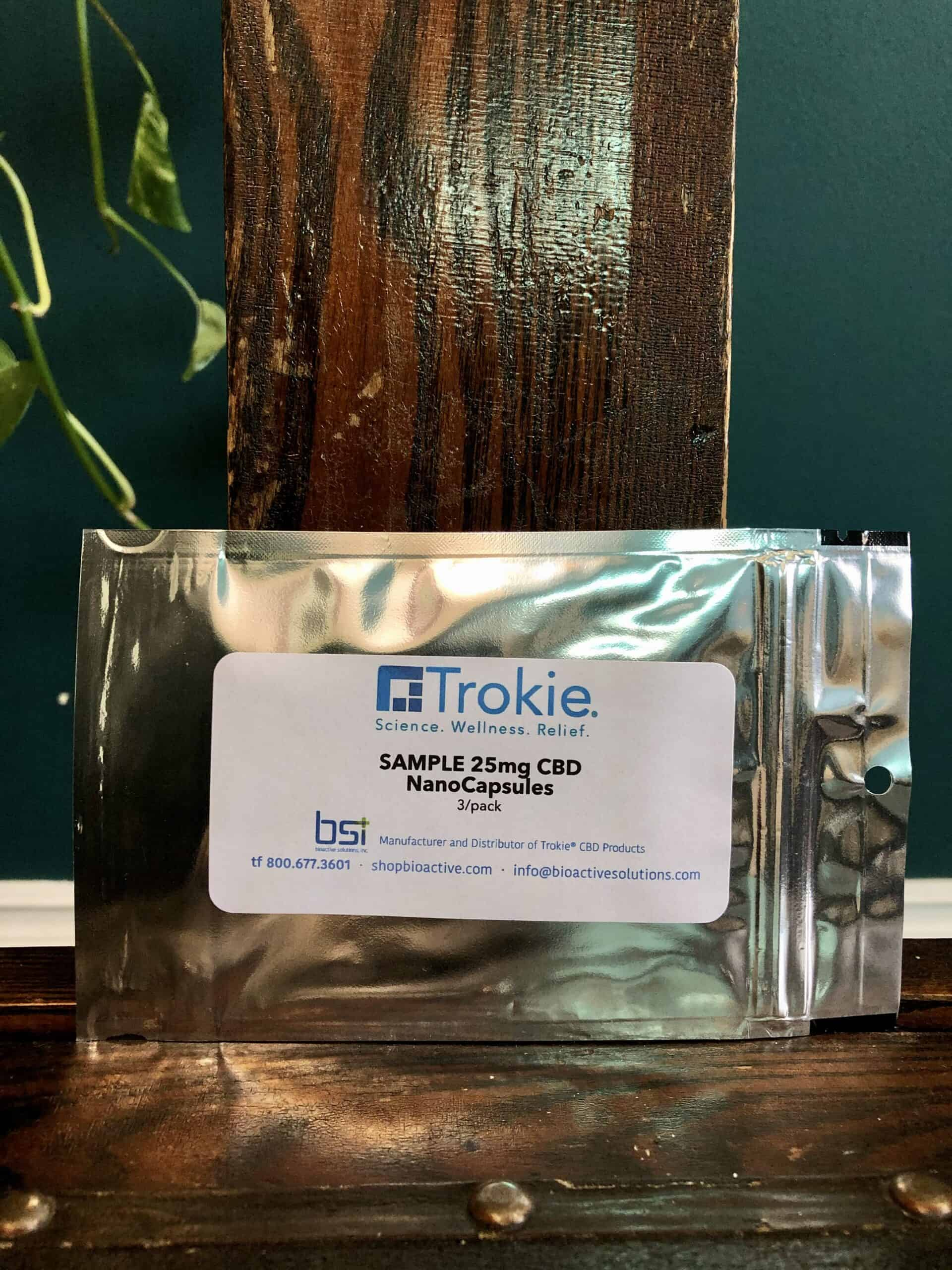 Trokie CBD NanoCapsules