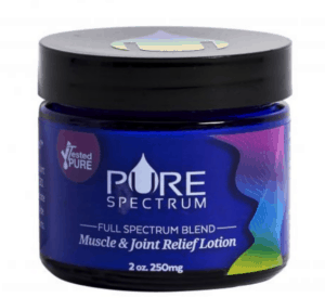 Shop CBD Coupons Pure Spectrum Lotion