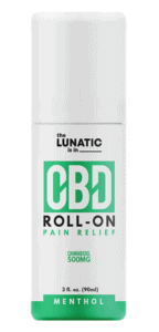 The Lunatic CBD Coupons Roll On Pain Relief