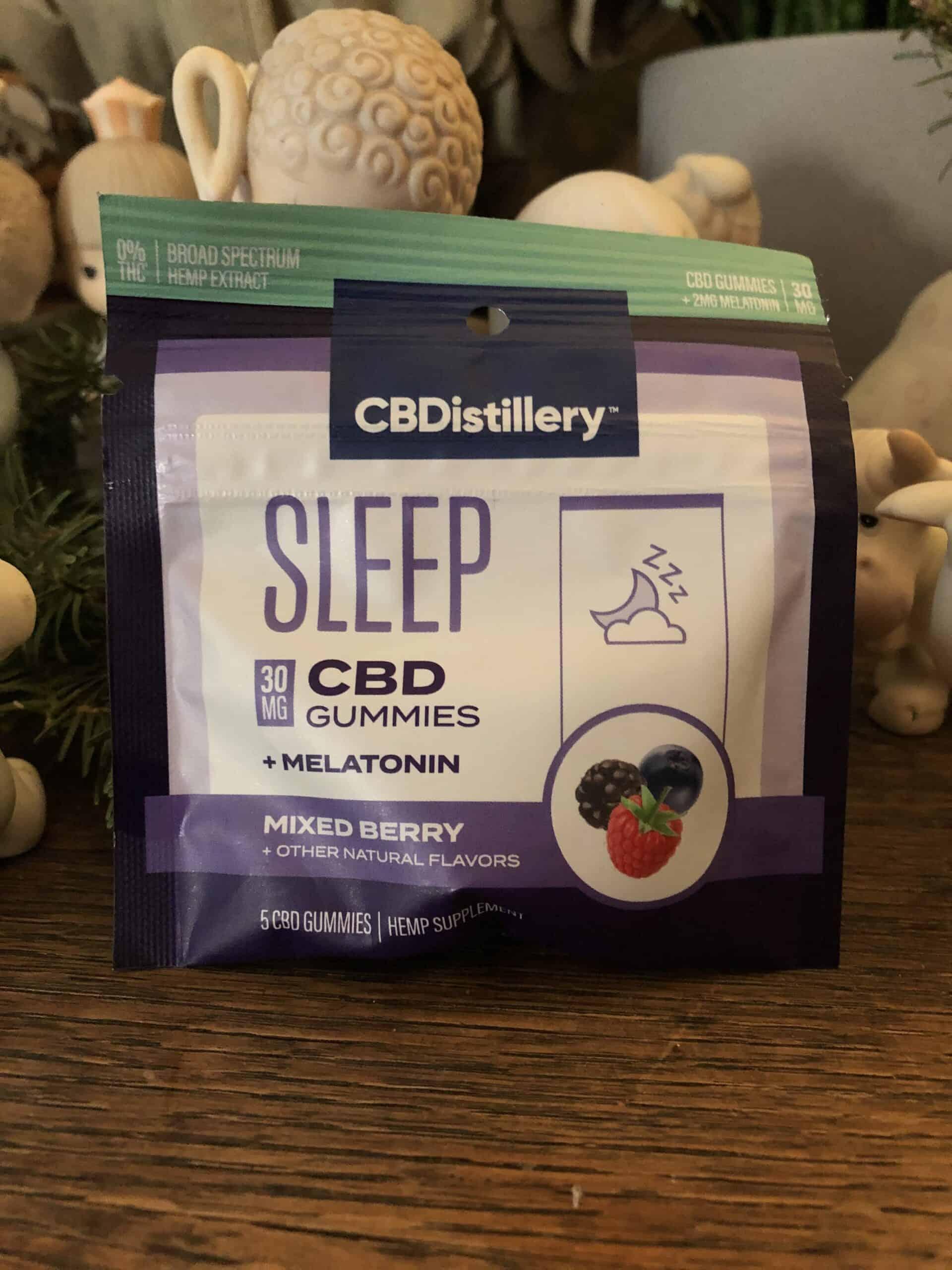 CBDistillery Sleep Gummies with Melatonin