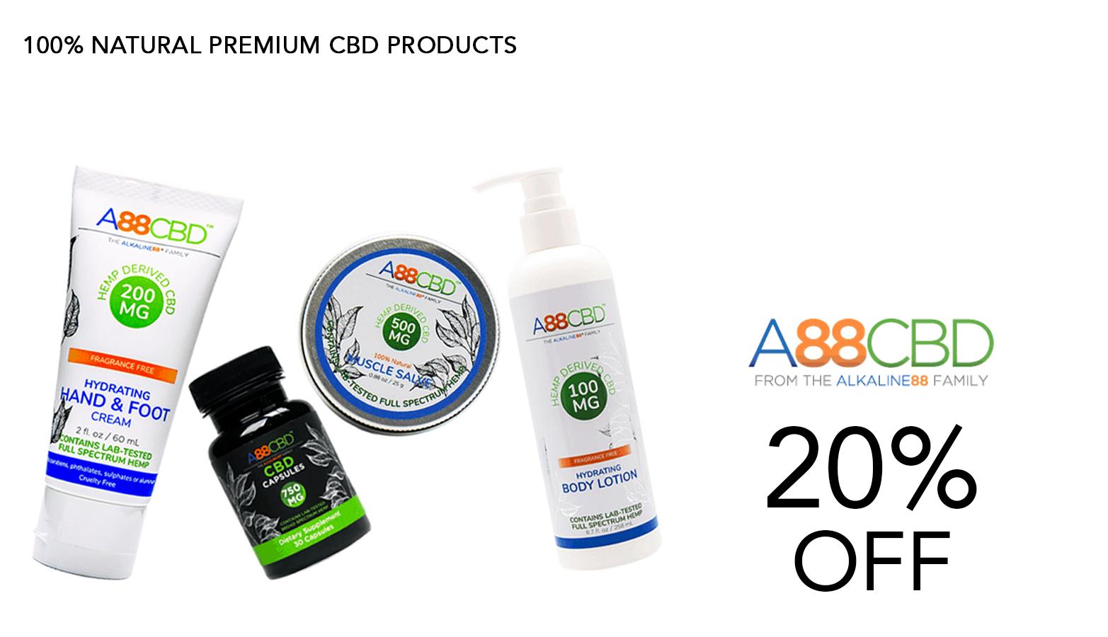 A88CBD Coupon Code Offer Website