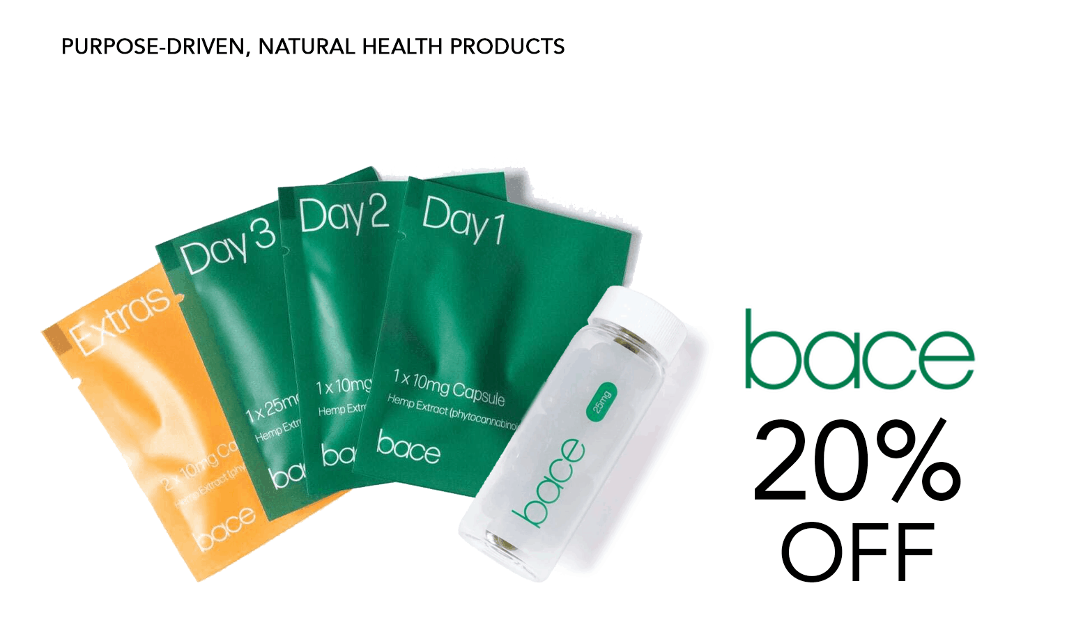 Bace Health CBD Coupon Code Offer Website
