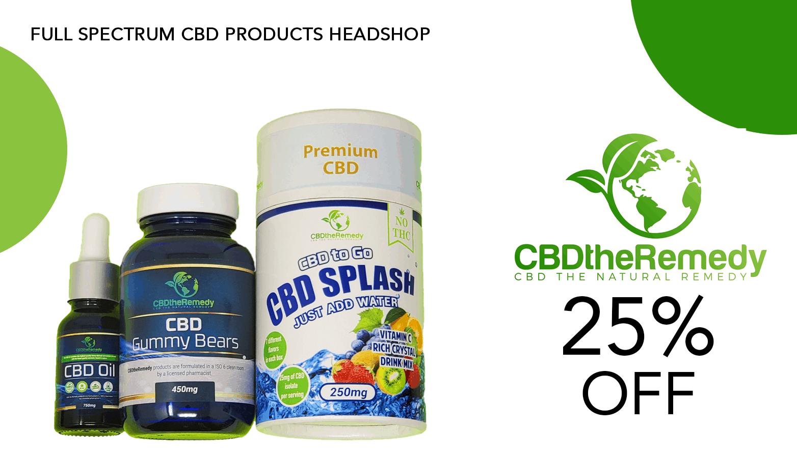 CBD The Remedy Coupon Code Offer Website