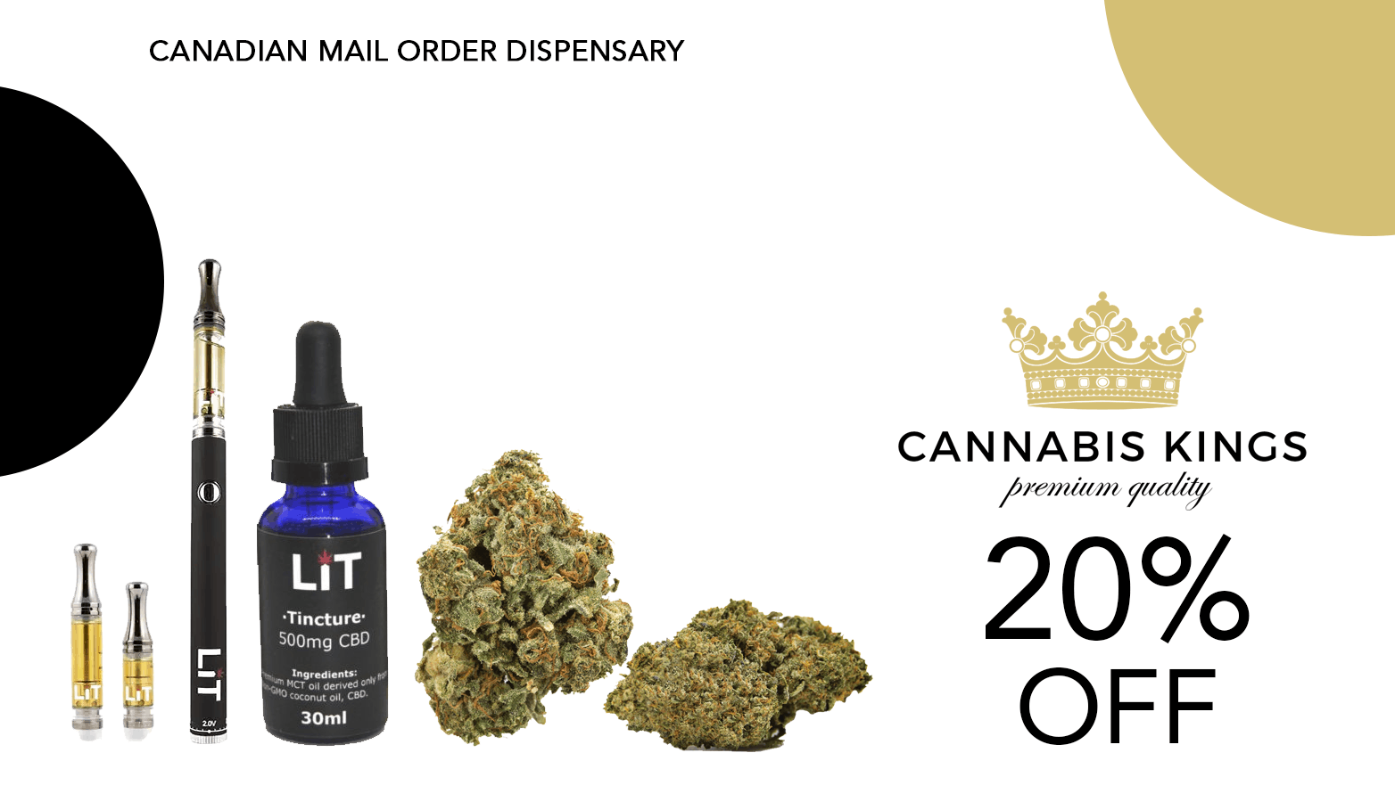 Cannabis Kings Coupon Code 20 Percent Offer Website