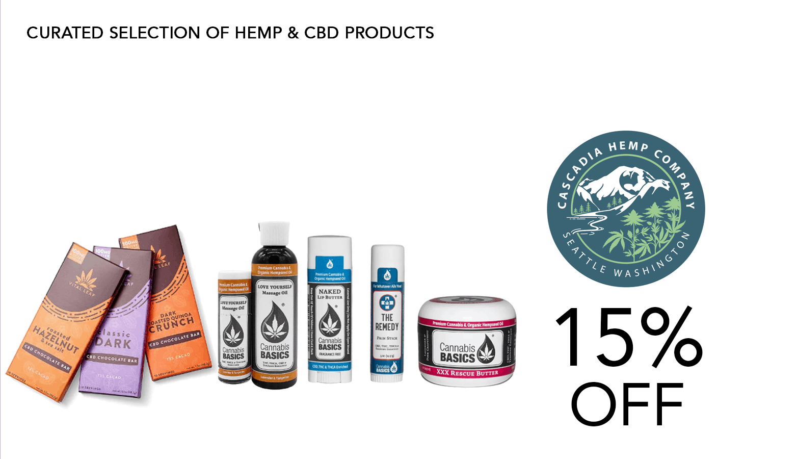 Cascadia Hemp Co Coupon Code Offer Website