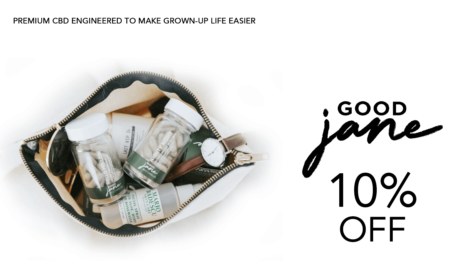 Good Jane CBD Coupon Code Offer Website