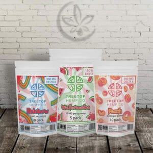 Great CBD Shop Coupons Treetop Gummies