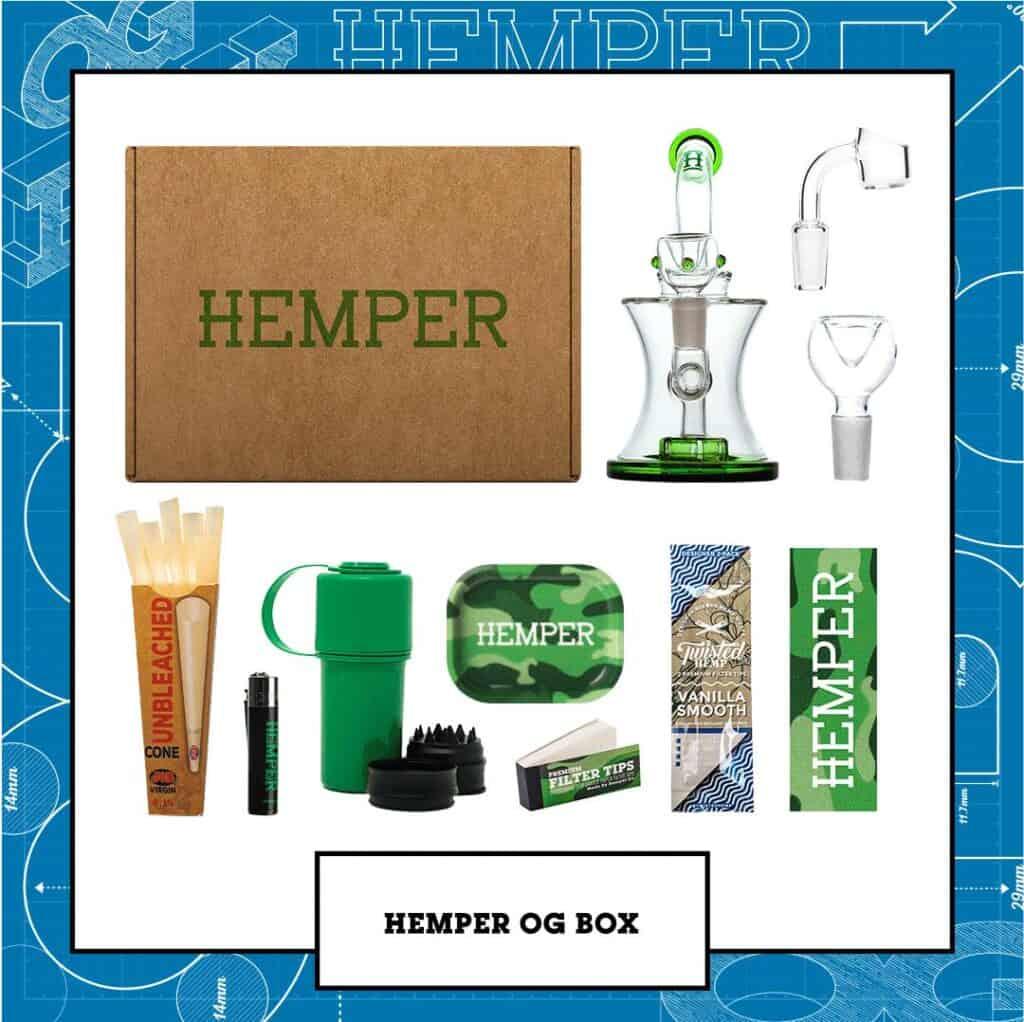 Hemper Smoking Accessories Coupons Box