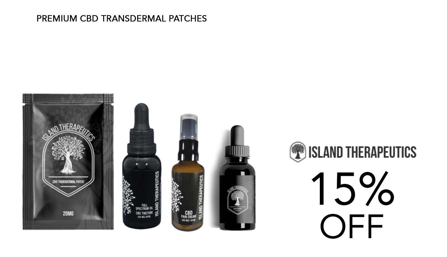 Island Therapeutics CBD Coupon Code Offer Website