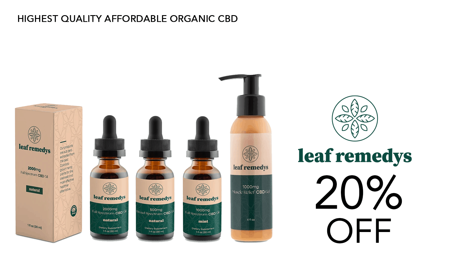 Leaf Remedys Coupon Code Offer Website