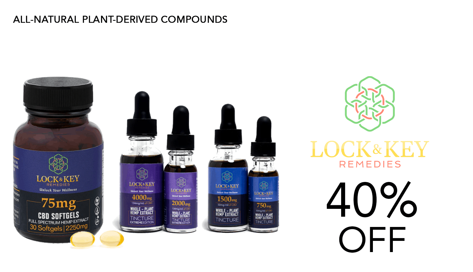 LocK and Key Remedies Inc CBD Coupon Code 40 Percent Offer Website