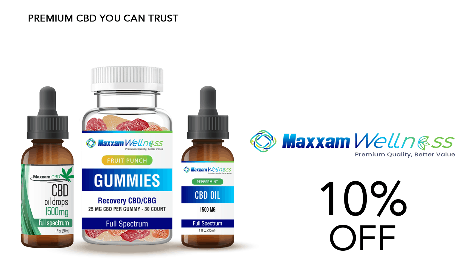 Maxxam Wellness CBD Coupon Code Offer Website