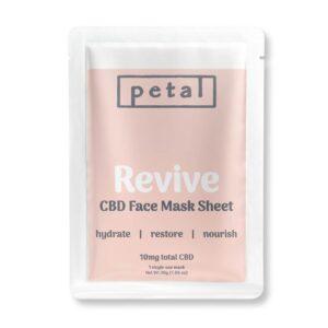 Petal CBD Coupons Revive Facemask