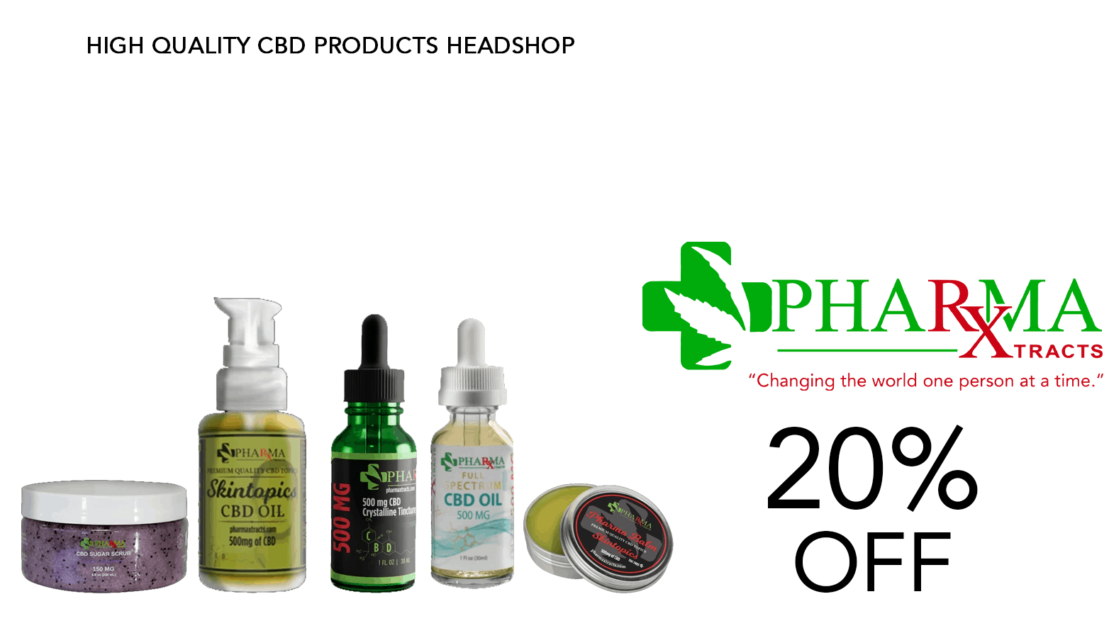 PharmaXtracts CBD Coupon Code Offer Website