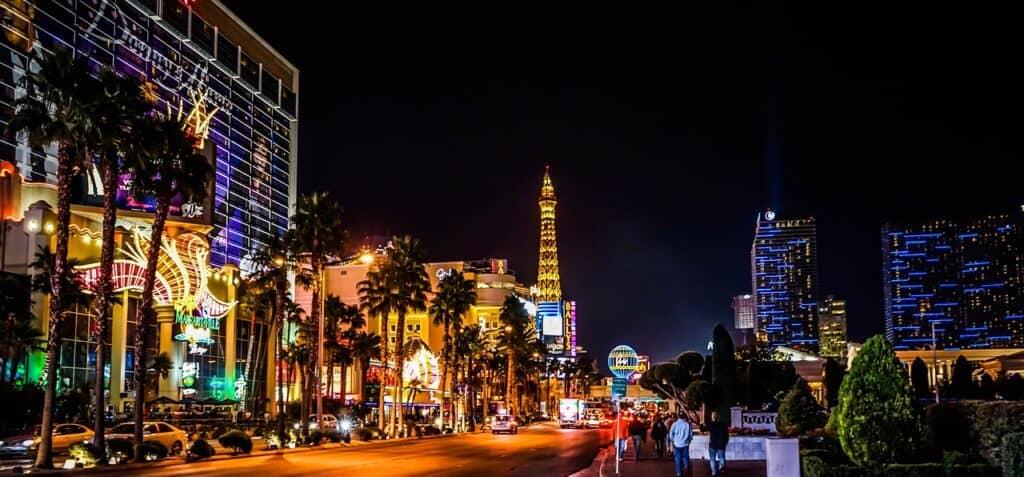 Smoking Weed in Vegas
