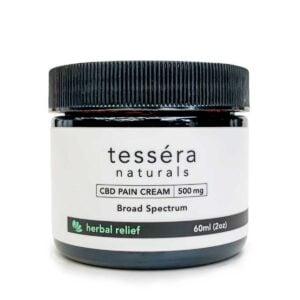 Tessera Naturals CBD Coupons Pain Cream