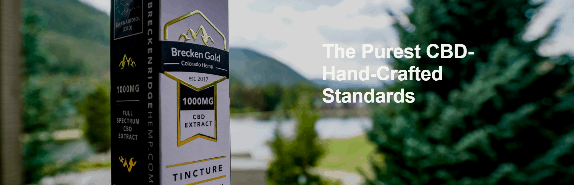 The Breckenridge Hemp Co Brecken Gold CBD Coupons Pure Products