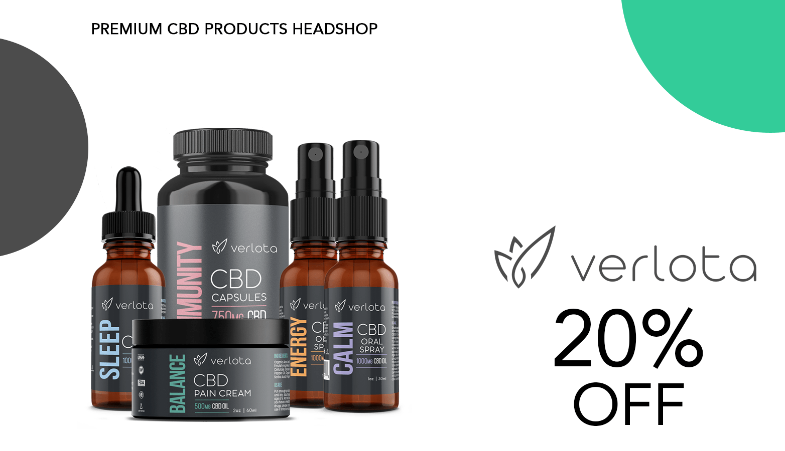 Verlota CBD Coupon Code Offer Website