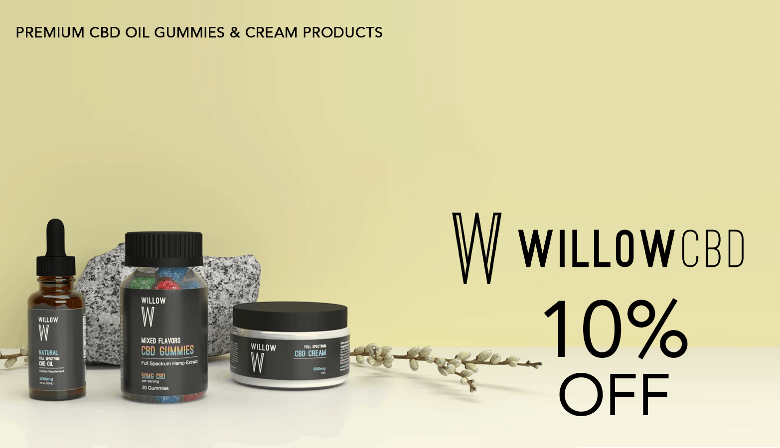 WillowCBD Coupon Code Offer Website