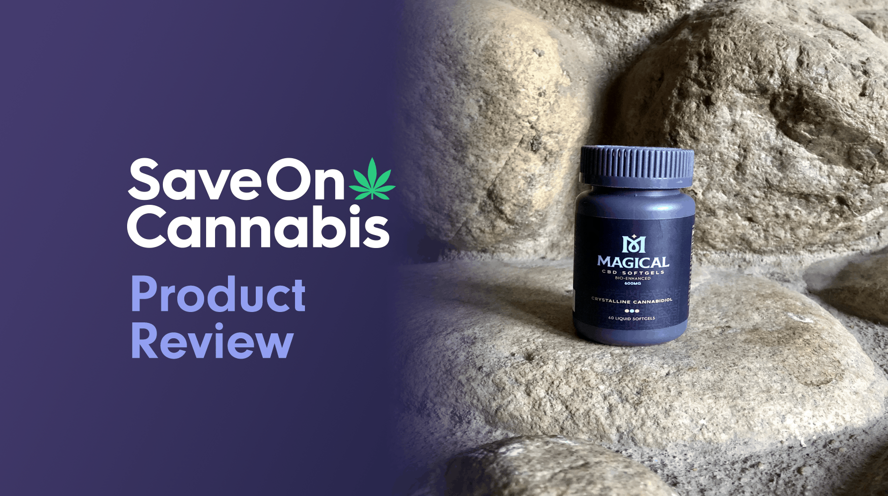 Magical CBD Softgels 600mg Save On Cannabis Review Website