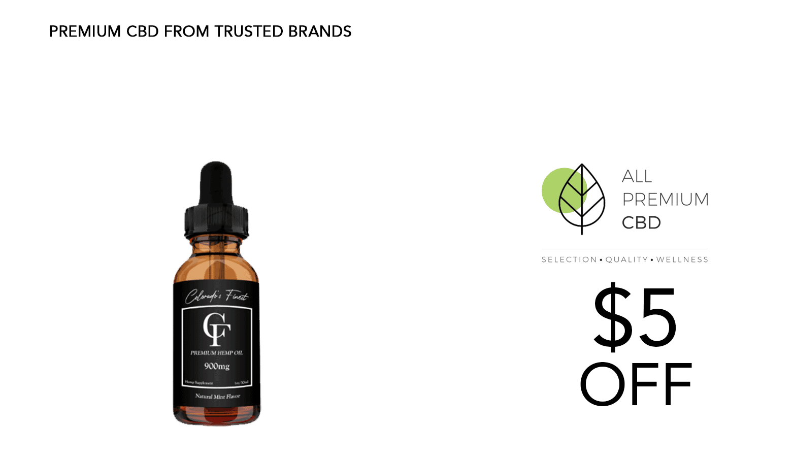 Colorado's Finest CBD Coupon Code Offer Website
