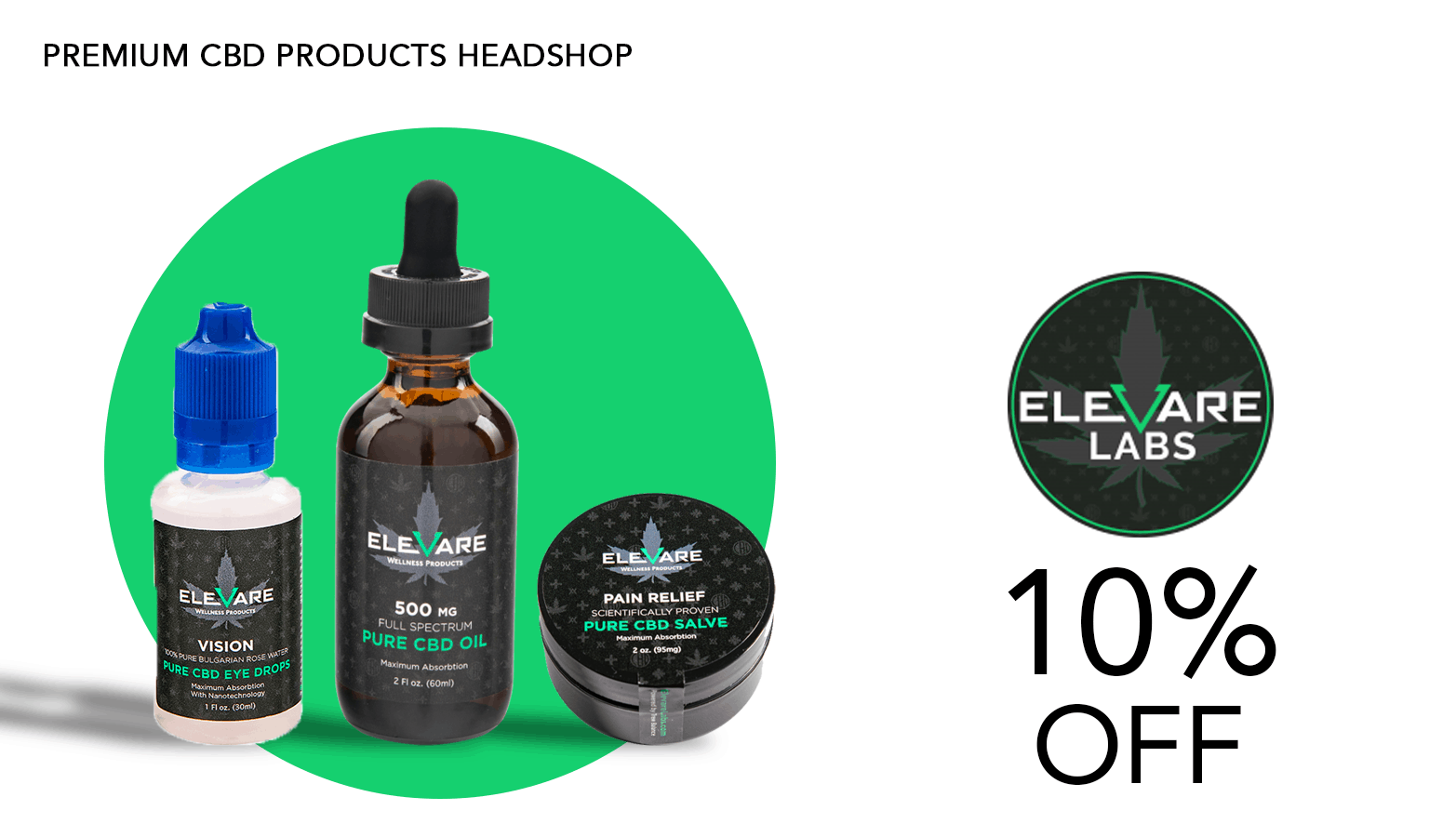 Elevare Labs CBD Coupon Code Offer Website
